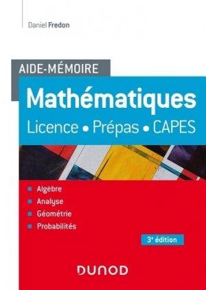Mathématiques - Dunod - 9782100819119 -