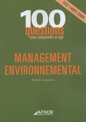 Management environnemental - afnor - 9782124750818 -