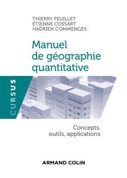 Manuel de géographie quantitative - armand colin - 9782200622336