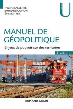 Manuel de géopolitique - armand colin - 9782200628086 -