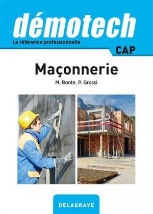 Maçonnerie - delagrave - 9782206101286 -