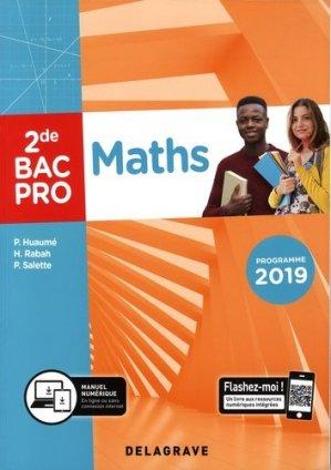 Mathématiques 2de Bac pro - Delagrave - 9782206103402 -