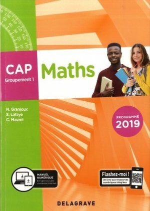 Maths CAP groupement 1 - Delagrave - 9782206104133 -
