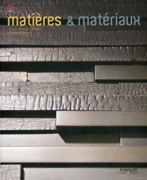 Matières et matériaux - eyrolles - 9782212129717