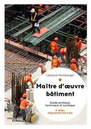 Maitre d'oeuvre batiment - eyrolles - 9782212678369 -