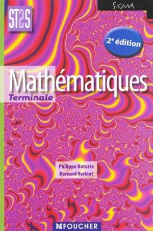 Mathématiques Terminale-foucher-9782216116362