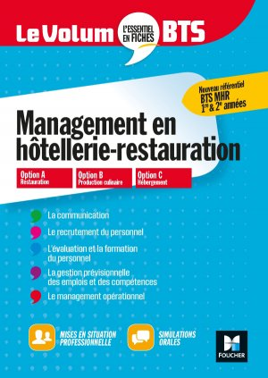 Management de l'hôtellerie-restauration - foucher - 9782216153398 -