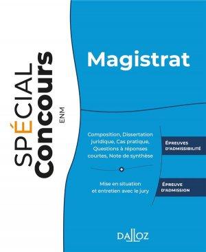 Magistrat - dalloz - 9782247198986 -