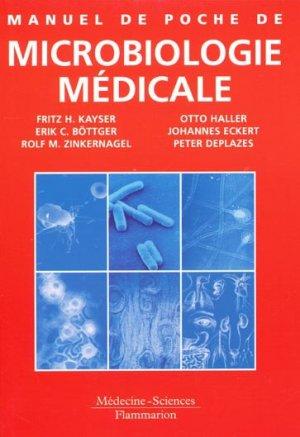 Manuel de poche de microbiologie médicale - lavoisier msp - 9782257113351 -