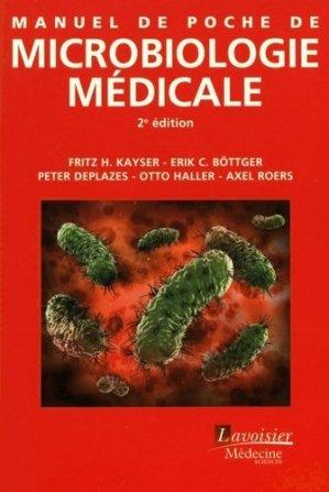 Manuel de poche de microbiologie médicale - lavoisier msp - 9782257206367