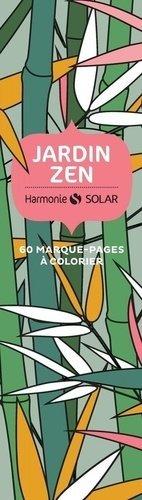 Marque page jardin zen - solar - 9782263174391 -