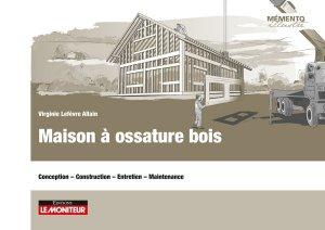 Maison à ossature bois - le moniteur - 9782281141009 -
