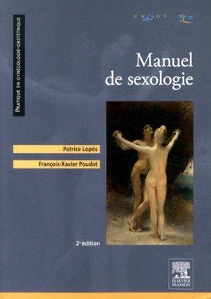 Manuel de sexologie - elsevier / masson - 9782294742637 -