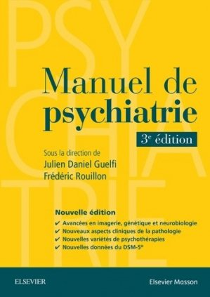 Manuel de psychiatrie - elsevier / masson - 9782294749278 -