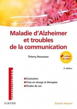 Maladie d'Alzheimer et troubles de la communication - elsevier / masson - 9782294755538 -