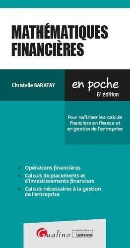 Mathématiques financières - gualino - 9782297134903 -