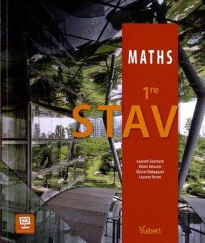 Mathématiques 1re STAV - vuibert - 9782311008692 -