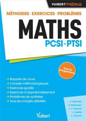Maths PCSI - PTSI - vuibert - 9782311402179 -