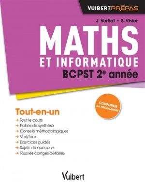 Maths et informatique BCPST 2e année - vuibert - 9782311405712 -
