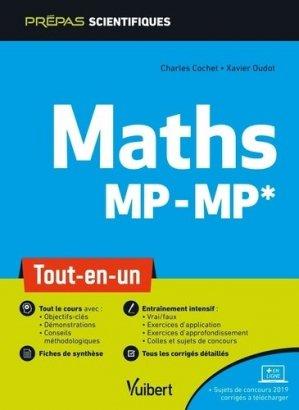Maths MP/MP - vuibert - 9782311407433 -