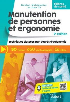 Manutention de personnes et ergonomie - vuibert - 9782311660500 -