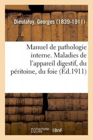 Manuel de pathologie interne - Hachette/BnF - 9782329111964 -