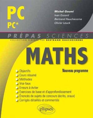 Maths PC PC* - ellipses - 9782340000018 -