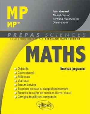 Maths MP - MP* - ellipses - 9782340000049 -