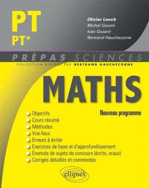 Maths PT PT* - ellipses - 9782340000087 -