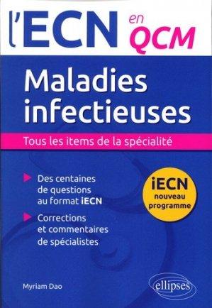 Maladies infectieuses - ellipses - 9782340001688 -