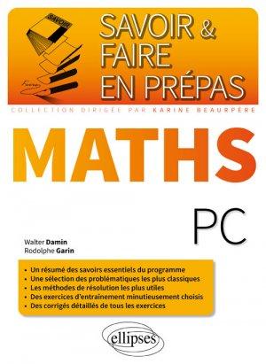 Mathématiques PC - ellipses - 9782340006539
