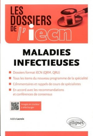 Maladies infectieuses - ellipses - 9782340007086 -