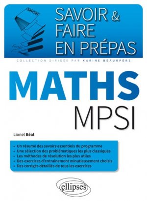 Maths MPSI - ellipses - 9782340008779