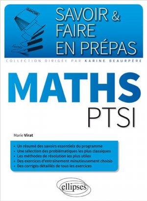 Maths PTSI - ellipses - 9782340010598