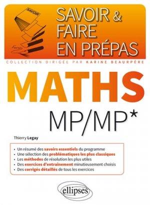 Mathématiques MP MP - ellipses - 9782340014831