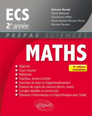 Maths ECS 2e année - ellipses - 9782340016477 -