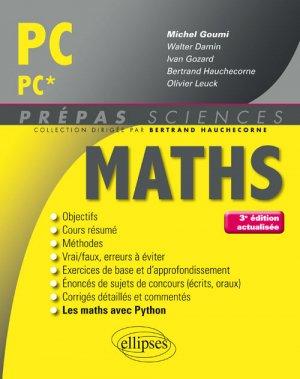 Maths PC PC* - ellipses - 9782340018662 -
