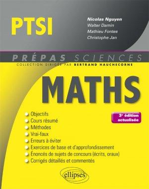 Mathématiques PTSI-ellipses-9782340018693