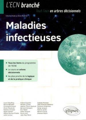 Maladies infectieuses - ellipses - 9782340019430 -