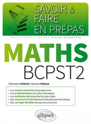 Mathématiques BCPST-2 - ellipses - 9782340020115 -