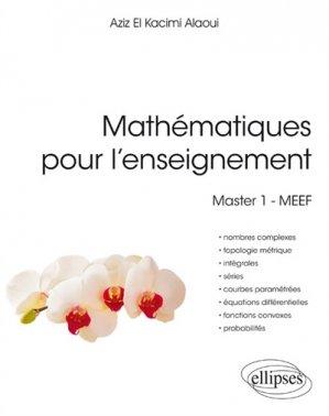 Mathématiques pour l'enseignement - ellipses - 9782340021556 -