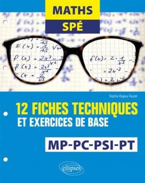 Maths Spé - ellipses - 9782340024137