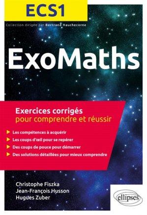 Maths ECS1 - ellipses - 9782340026551 -