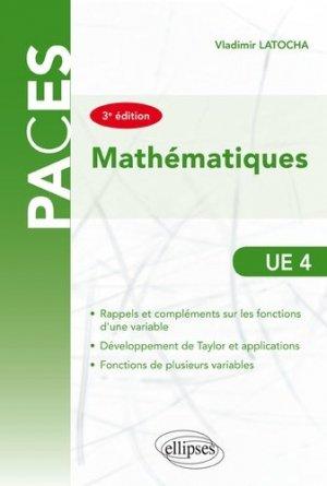 Mathématiques UE4 - ellipses - 9782340027893
