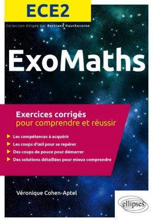 Exos Maths ECE2 - ellipses - 9782340028647 -