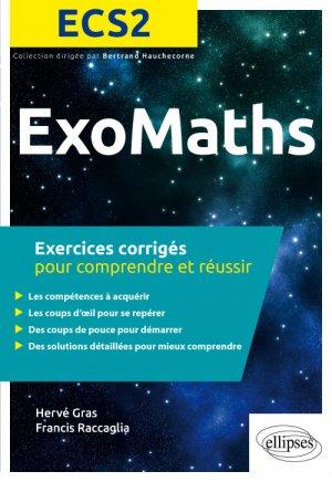 ExosMaths ECS2 - ellipses - 9782340029507 -
