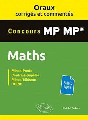 Mathématiques MP-MP* - ellipses - 9782340029620 -