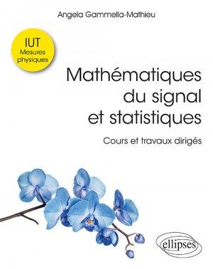 Mathématiques du signal et statistiques - ellipses - 9782340030190 -