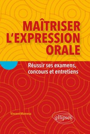 Maîtriser l'expression orale - ellipses - 9782340030497