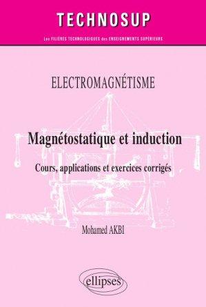 Magnétostatique et induction - ellipses - 9782340033177 -